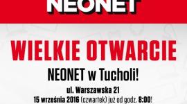 NEONET w Tucholi przenosi się na ulicę Warszawską