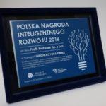 TapOn z Polską Nagrodą Inteligentnego Rozwoju 2016