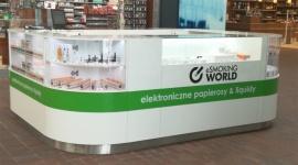Stoisko eSmoking World w Quick Park Mysłowice