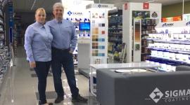 Pierwsza zabudowa sklepowa Sigma Coatings stanęła w Kołobrzegu
