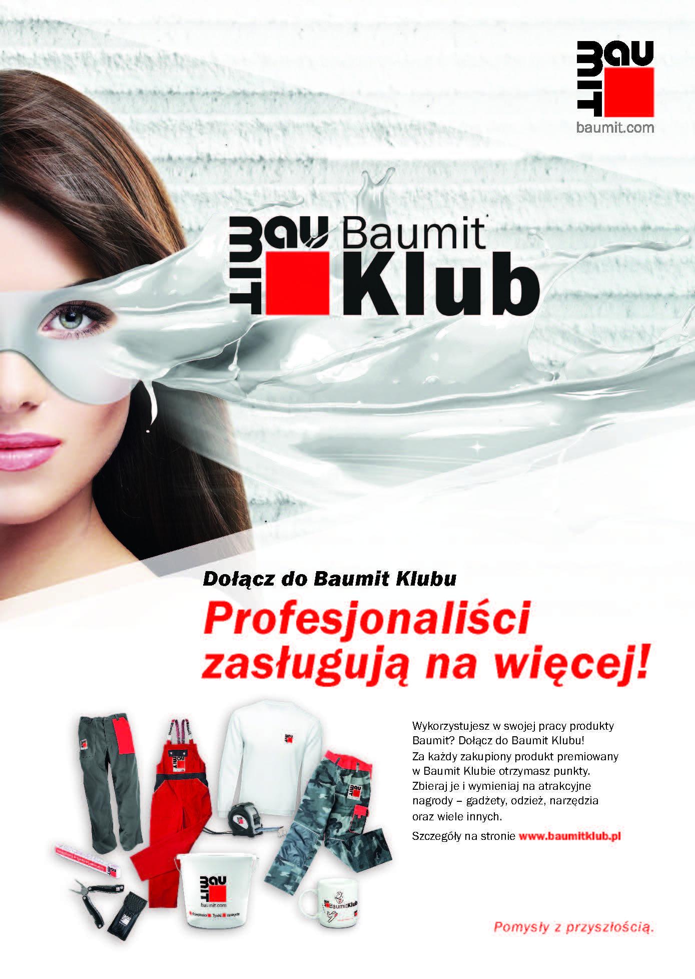 Baumit Klub – wystartował nowy program lojalnościowy Baumit