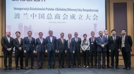 Polsko-Chińska Główna Izba Gospodarcza w Warszawie inauguruje swoją działalność