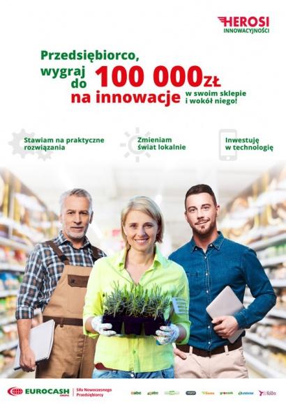 Eurocash sfinansuje innowacyjne zmiany w sklepach lokalnych przedsiębiorców