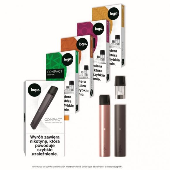 JTI Polska wchodzi na rynek papierosów elektronicznych z Logic Compact