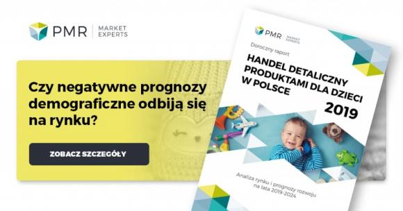 Dynamika rynku produktów dla dzieci przyspieszy w 2019 r.