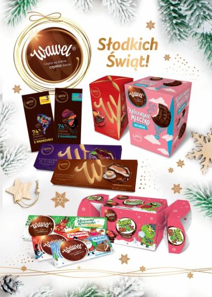 Oferta Zimowa – słodkości od marki Wawel
