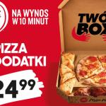Nowość w Pizza Hut – Twój Box, czyli pizza i 2 dodatki
